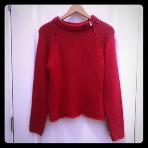 United Colors of Benetton Red Sweater